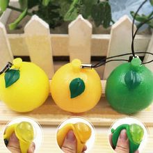 Phone Interesting Straps Lithe Toys Simulate Soft Fruit Orange Lemon Decor Portable Phone Straps Randomly For iPhone For Samsung(China)