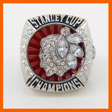 Bottom Price for 2013 Replica Ice Hockey Chicago Black Hawk Championship Ring for Fans(China)