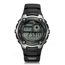Casio watch top brand luxury Men Sports digital watch Waterproof Complete Calendar Alarm Relogio AE-2100WD-1A Diver