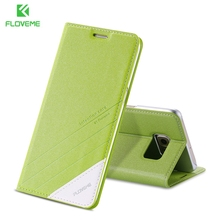 FLOVEME Elegant Cover For iPhone 7 / 7 Plus Case PU Leather For iPhone 6 6S Plus 5 5s se Magnetic Flip Card Wallet Stand Cover