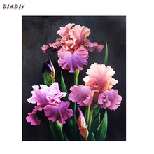 Needlework 3D diamond embroidery flower  full resin diamond with picture home decor mosaic diy diamond painting Narcissus