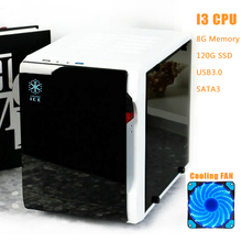 GloryMaster Brand New DIY Desktop Computer For Intel I3 I5 Mini PC Super Game Case HTPC Case Support GTX 750Ti 1080 P