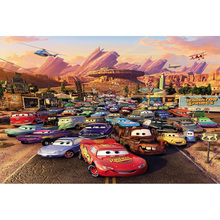 Vinyl cloth cartoon cute cars rcae airplane photography backdrops for birthday party boy photo studio portrait backgrounds