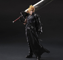 Final Fantasy Action Figure Play Arts Kai Cloud Strife Collection Model Toy PLAY ARTS Final Fantasy Cloud Strife Playarts Doll