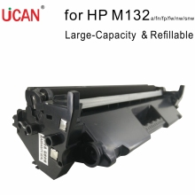 UCAN 18A CF218A for HP Laserjet Pro MFP M132a M132fn M132fp M132fw M132nw M132snw Large Capacity Refillable Toner Cartridge