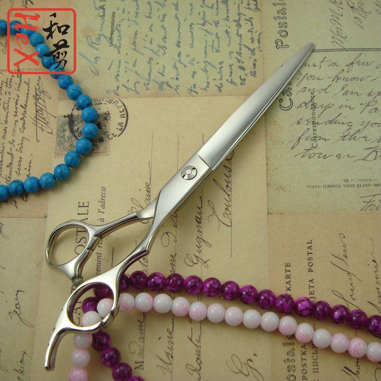 7 inch Japanese 440C professional hair scissors high quality hairdressing scissors  5.5 / 6 /7 Barber Scissors<br>