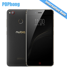 International Firmware ZTE Nubia Z11 Mini S 64GB ROM 5.2 inch Smartphone 4GB RAM Android Snapdragon 625 Octa Core 13.0MP23.0MP S
