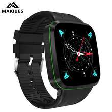 Makibes Talk N8 3G Smart Watch Phone Android 5.1 TK6580 512M RAM 8GB ROM GPS WiFi Bluetooth4.0 Pedometer Camera Wireless Charger