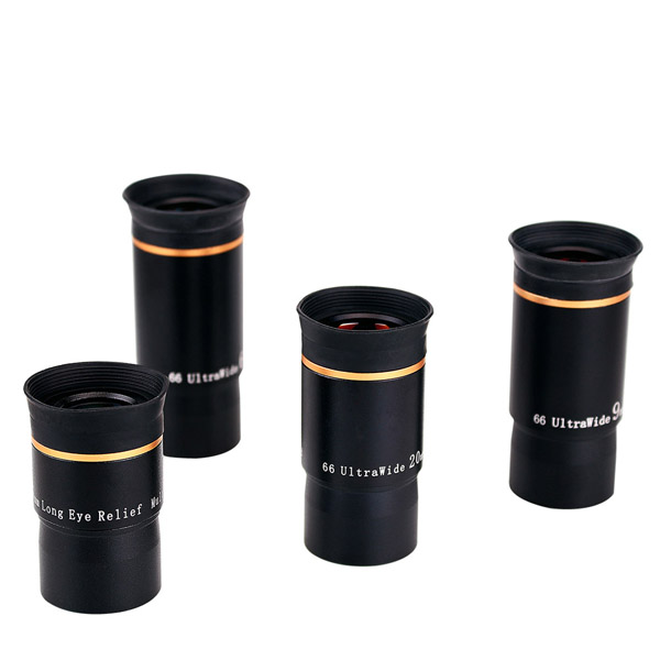 LAIDA FMC 1.25 Eyepiece Kit 66-Degree Ultra Wide 691520mm (1)