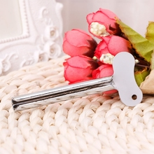 Stainless Steel Toothpaste Dispenser Squeezer Metal Tube Toothpaste Hair Color Dye Cosmetic Oil Paint Squeezer reduce waste