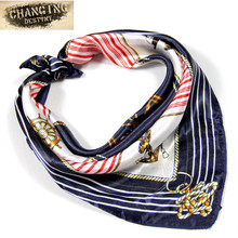 22 Kinds of Color 50*50 CM Woman's Scarf Four Seasons Available Ladies Professional Small Squares New Design Silk Scarves(China)