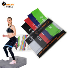 PROCIRCL Resistance Band Set 4 Levels Available Latex Gym Strength Training Rubber Bands Fitness CrossFit Equipment