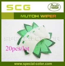 20pcs Wholesales White DX4 Printer Wiper for Mutoh RJ8000/8100 Printer Cleaning Wipper