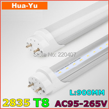 30pcs/lot,900mm T8 led tube light, AC95-265V 13W led t8,SMD2835 1200lm Top quality Epistar Chip CE & ROHS Cold white/Warm white
