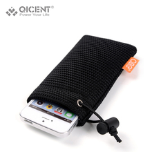 QICENT Pouch Bag Case Handbag Cell Phone Accessories Protective for iPhone/HTC Headphone MP3 Power Bank