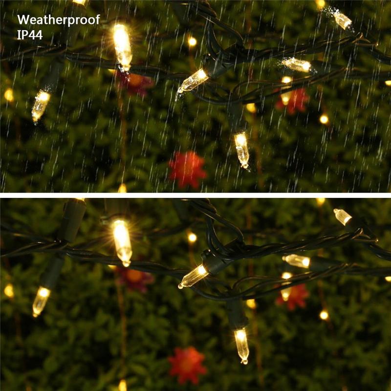 200 LED mini string lights  (5)