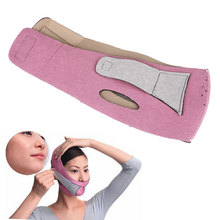 Personal Care Skin Care Slimming Bandage Shape Reduce Double Chin Face Mask(China)