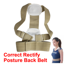 Adjustable Rectify Back Posture Corrector Brace Humpbacked Prevent Back Shoulder Support Belt Posture Correction Therapy Belt(China)