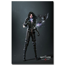 Yennefer - The Witcher 3 Wild Hunt Hot Game Art Silk Fabric Poster Huge Print 12x18 32x48inch Wall Pictures For Room Decor 011