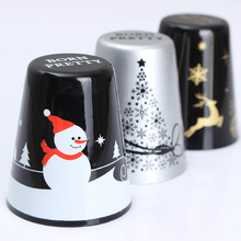 1Pc BORN PRETTY Christmas Nail Stamper Handle Tree Elk Snowman Pattern Metal Stamper Handle Manicure Nail Art Stamping Tool