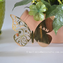 butterfly theme products,butterflies decorations, butterfly laser cut place cards/wine glass butterfly decorations/party favors