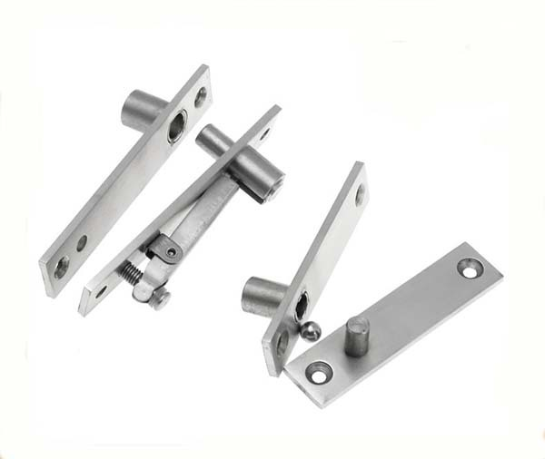 High Quality 304 Stainless Steel Pivot Door Hinges 360 Degree Install Up and Down Rotary Hinges Furniture Hardware<br>