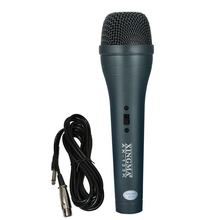 XINGMA AK-123K Handheld Microphone Long Cable Vocal Mesh Guard Dynamic Metal Condenser Black Wired Microphones For Karaoke KTV
