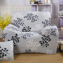 Pastoral Stretch Sofa Cover Big Elasticity Couch Cover Loveseat Sofa Funiture Cover Single/Two/Three/Four-seater Home Decor
