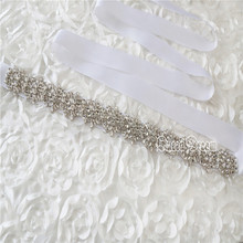 Diamante Applique Rhinestone Applique Crystal Bridal Sash White Wedding Applique Pearl Beaded Applique Wedding Belt