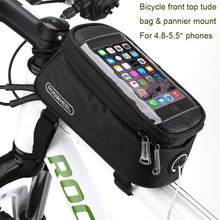 "5.5"" Bicycle Bike Mobile Cell Phone Holder Waterproof Bag for Oneplus 5/3T/3/Leeco le 2/1s/Asus zenfone max/3/pro/Huawei honor 8(China)"