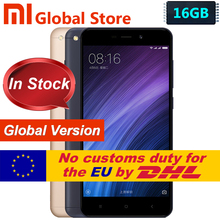 Original Global version Xiaomi Redmi 4A 2GB 16GB telephone  cellphone Redmi 4A 16GB  EU Snapdragon 425 free shipping