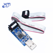 1pcs New USBASP USBISP AVR Programmer USB ISP USB ASP ATMEGA8 ATMEGA128 Support Win7 64K(China)