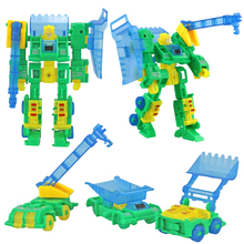 Wholesale action figure anime robot toy train transformation robot car action classic toys creative toys for children boys URGE