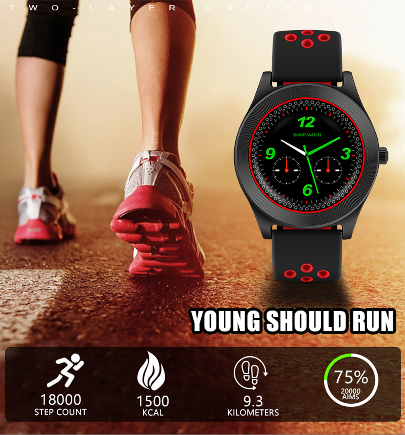 Volemer Smart Watch TF8 Sports Fitness Watch Support Memory Card SIM Card Phone Smartwatch Bluetooth Android Smart Wristwatch (13)