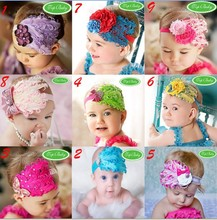 feather headband girls' hairbands Christmas hair tie Head bands Hair Accessories 20pcs FASHION-00(China)