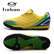 TIEBAO Professional Sports Shoes Soccer Chuteira Futebol Outdoor Boots Men Sneakers Soccer Cleats TF Turf Soles Botas De Futbol
