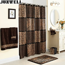 "100% Polyester Fabric Shower Curtains animal printing home products washable Bathroom Shower Curtains 72*72"" 182x182CM(China)"