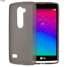 Sanheshun Protective Matte Soft TPU Gel Silicone Back Cover Cellphone Case for LG Leon 4G LTE H340N Skin Case(China)