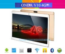 Original Onda V10 4G Phone Call Tablet PC 10.1'' IPS 1920*1200 Android 7.0 MTK6753 Octa Core Dual SIM Card GPS Bluetooth 2G/32G