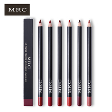 MRC Matte Lip Liner Set Lip Pencil Waterproof Contour Makeup Lips Tattoo Batom Kit Lipliner Eye Liner Pen Multifunctional Tool