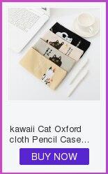 Cute Kawaii Cactus Pencil Case Stationery Bag Estuches Chancery Pencil Box Cosmetic Pen Bags gudetama School Office Supplies