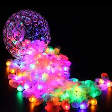 Decor LED light 50Pcs balloon lamp led ball Light for Chinese Paper Lantern Party supplies Halloween party wedding decoration