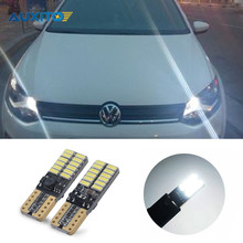 2X Canbus T10 W5W 24 LED Car Clearance Lights Parking light For VW POLO Golf 5 6 7 GTI Passat B5 B6 B7 Jetta Bora MK5 MK6 Tiguan