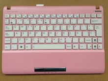 New Laptop Keyboard for asus Asus Eee PC 1025C 1025CE Spanish SP white With Pink C Case V103646OK1