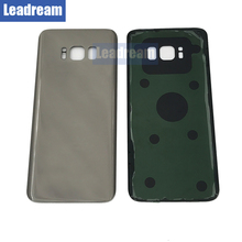 Leadream/OEM Battery Cover Glass Housing Rear Back Door For S8 G950 Back Housing Cover with adhesive Free shipping(China)