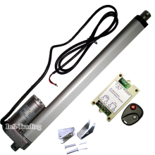 "Linear Actuator 300mm/12"" Stroke 330lbs Heavy Duty 12V DC Motor &Wireless Control System Kits Multi-function for Car Boat Door"