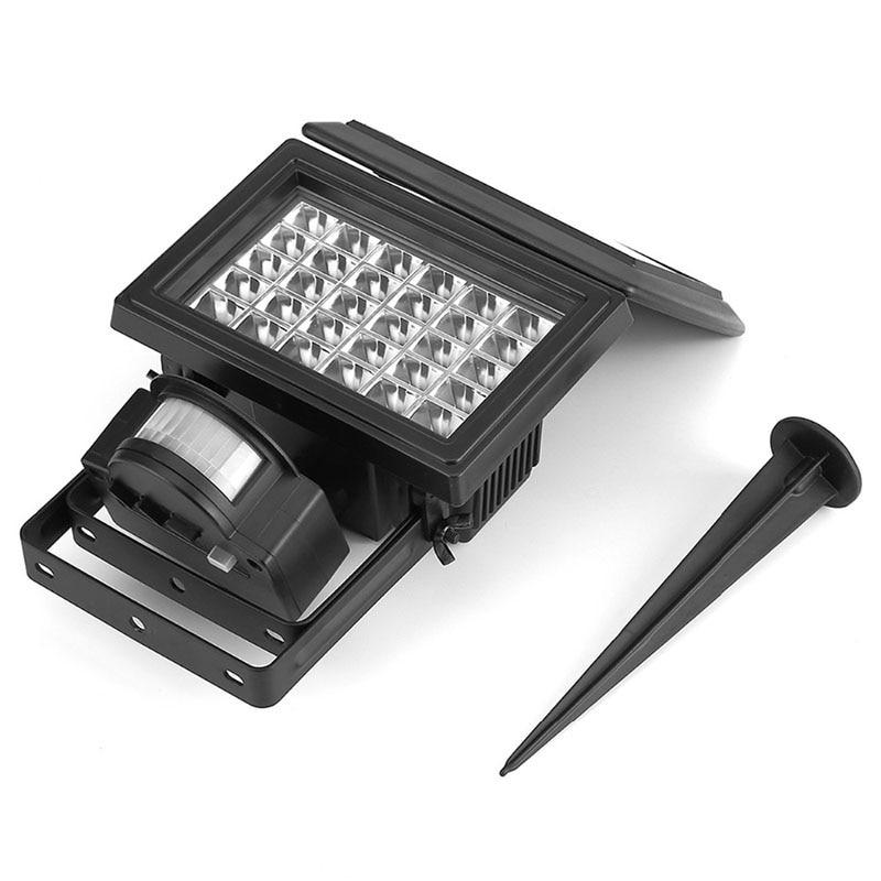 IP65 Waterproof Outdoor 200LM 30 LED Solar Power Door Path Spike Lawn Lamp Porch Yard Wall Flood Light PIR Motion Sensor Travel<br><br>Aliexpress