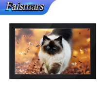 "Faismars M140-RF 14-inch LCD Monitor 1366*768 Widescreen Industrial Monitor Display 14"" CCTV Security Rack Mount Monitor(China)"