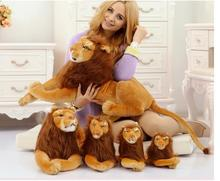 stuffed toy , large 70cm lying lion plush toy simulation lion , birthday gift d8069