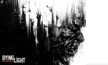 "Dying Light - Open World Survival Horror Game Watercolor inkjet Fabric poster 40"" x 24"" 21"" x 13 Decor-04(China)"